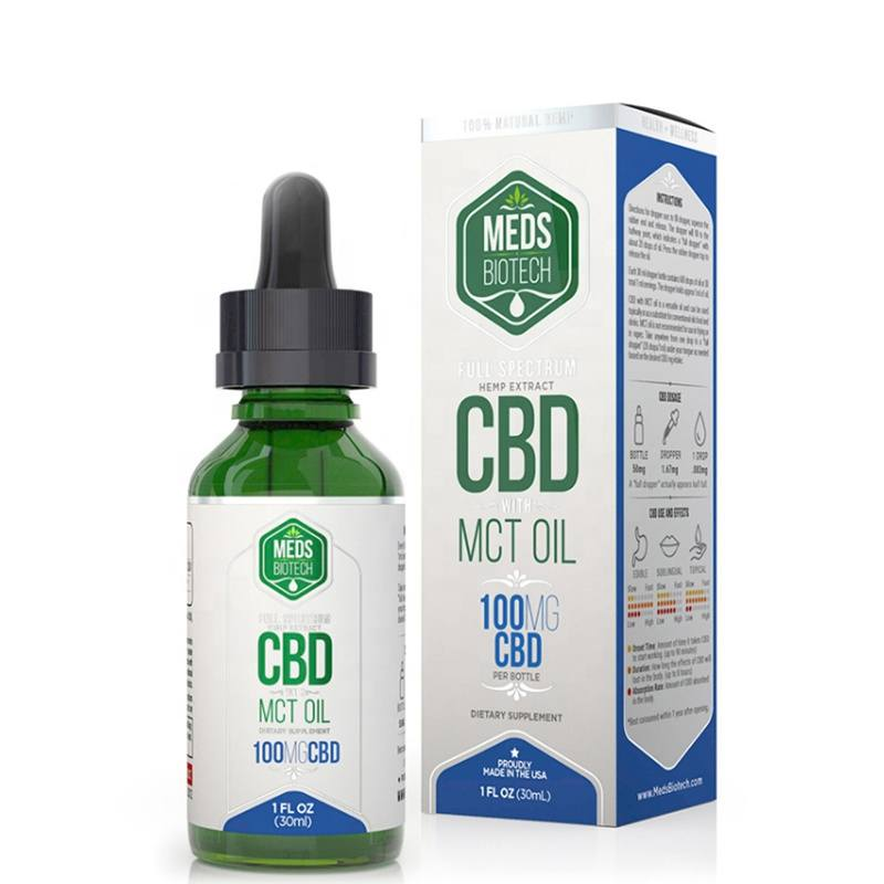 Custom Cannabis Bottle Packaging Box