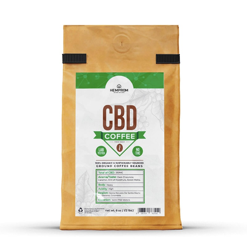 Custom Cannabis Coffee Boxes