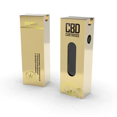 Custom Cannabis Vaporizer Boxes Gold