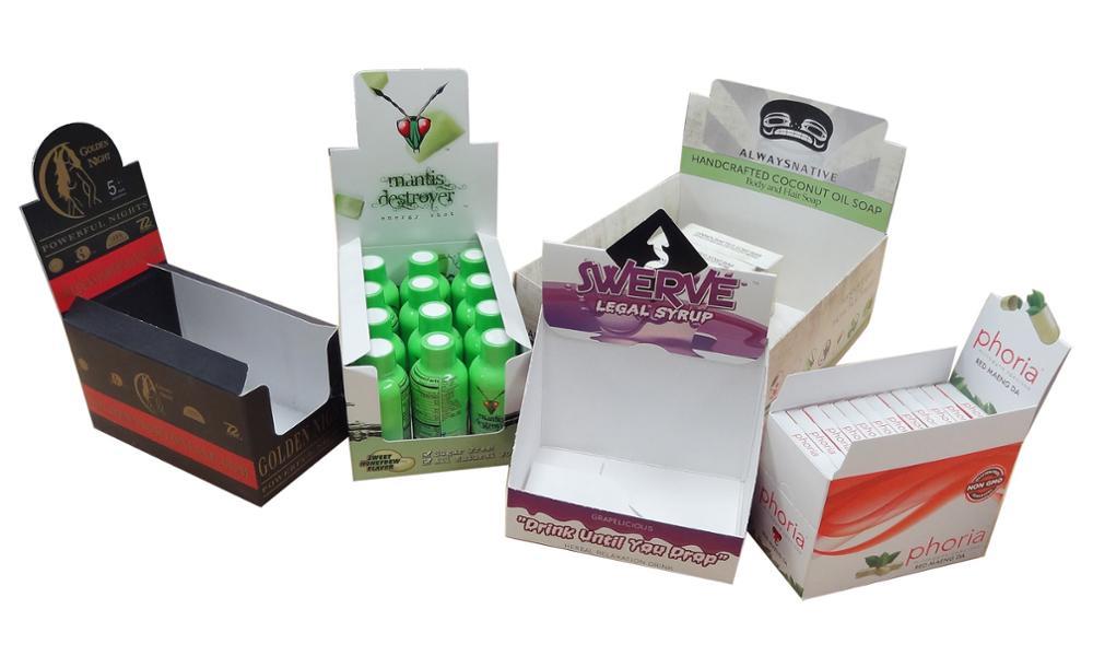 Custom Printed Marijuana Display Boxes (2)