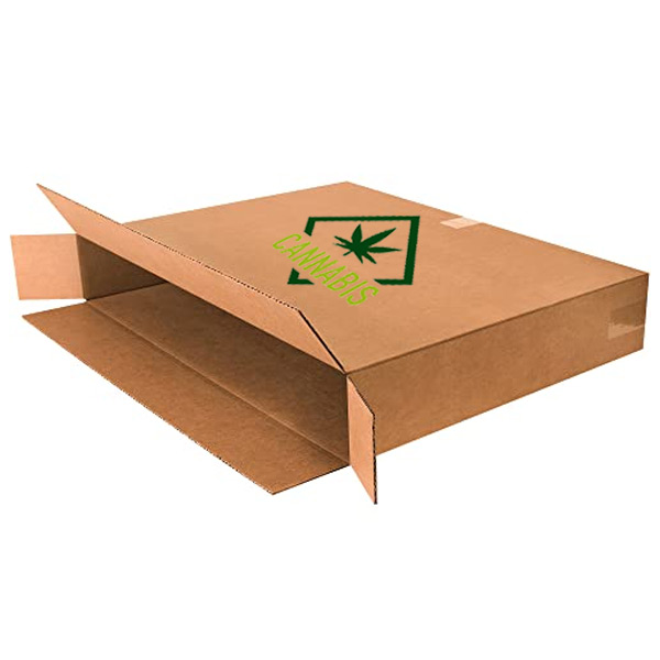 Custom Printed Marijuana Shipping Box