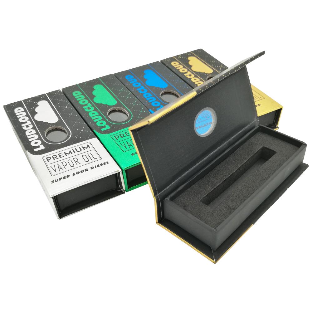 Custom Printed Pod Cartridge Packaging