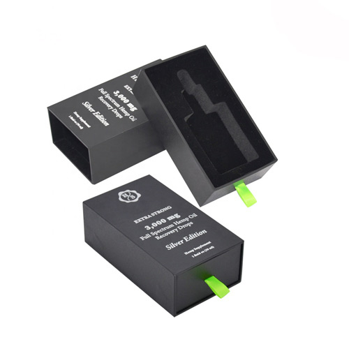 Printed Cbd Rigid Boxes